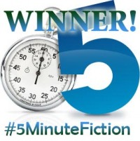 #5MinuteFiction Contest winner!