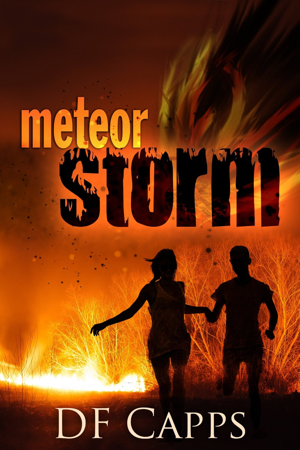 Book Review by Wendy Strain of Meteor Storm by David Capps