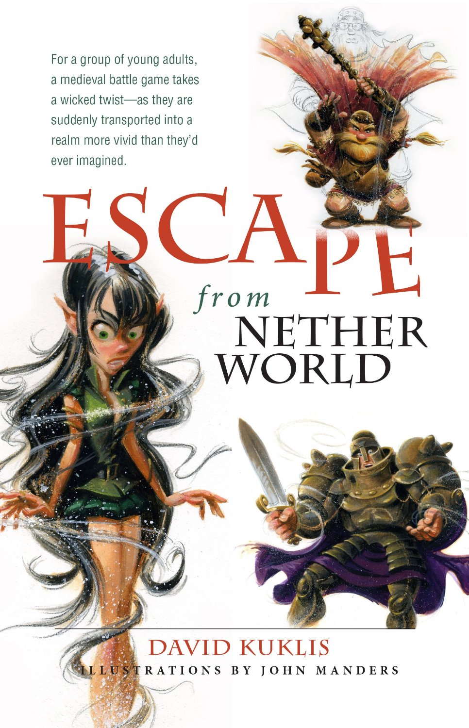 Book review by Wendy Strain on Escape from Netherworld by David Kuklis