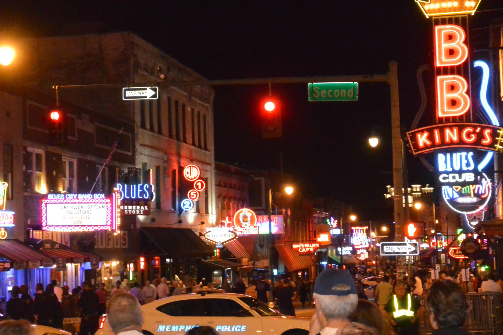 Beale St. and RIP BB King (5-14-15)