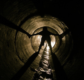 Writing prompt by Wendy Strain, photo by Tunneling