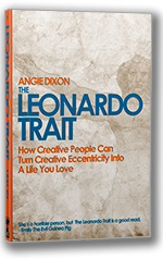 Leonardo Trait by Angie Dixon: Book review by Wendy Strain